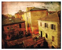 "Bird's-eye Italy II by Robert McClintock - 21"" x 17"""