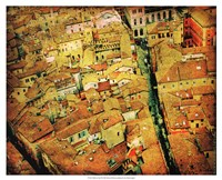 "Bird's-eye Italy III by Robert McClintock - 21"" x 17"""