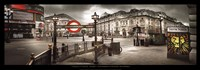 "37"" x 13"" London Pictures"