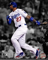 Matt Kemp 2012 Spotlight Action Fine Art Print