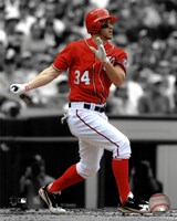 Bryce Harper 2012 Spotlight Action Fine Art Print