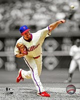 Cliff Lee 2012 Spotlight Action Fine Art Print