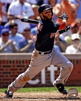 Dustin Pedroia 2012 Action Fine Art Print