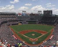 """Rangers Ballpark 2012 - 10"""" x 8"""""""