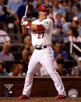 Mike Trout 2012 MLB All-Star Game Action Framed Print