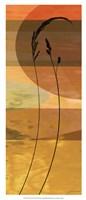 """Sunset Duet III by James Burghardt - 9"""" x 21"""""""