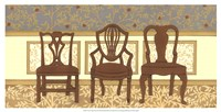 """Arts & Crafts Chairs II by Wendy Russell - 25"""" x 13"""""""