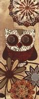 Owls Wisdom II Fine Art Print