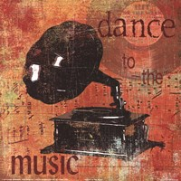 Dance To The Music Fine Art Print