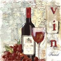 """Vin by Carol Robinson - 12"""" x 12"""""""