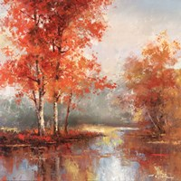 Autumn's Grace I Fine Art Print