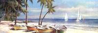 """Fair Island I by T.C. Chiu - 36"""" x 12"""""""