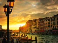 Venice in Light IV Fine Art Print