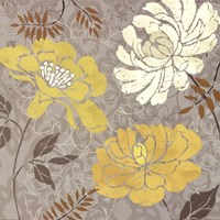 "Morning Tones Gold I by Daphne Brissonnet - 18"" x 18"" - $13.99"