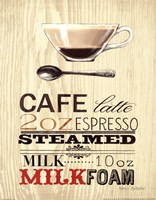 Cafe Latte Fine Art Print