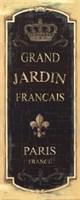 Garden View VIII - Grand Jardin Fine Art Print