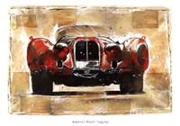 Vintage Red Fine Art Print
