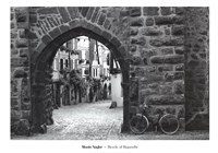 Bicycle of Riquewihr Fine Art Print