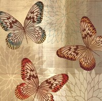 Tropical Butterflies II Fine Art Print
