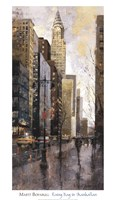 Rainy Day In Manhatten Fine Art Print