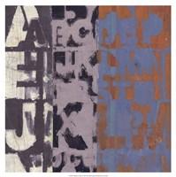 """19"""" x 19"""" Alphabet Art"""