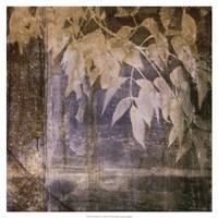 "Fluttering Leaves I by Jennifer Goldberger - 19"" x 19"""
