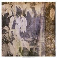 """Fluttering Leaves II by Jennifer Goldberger - 19"""" x 19"""""""
