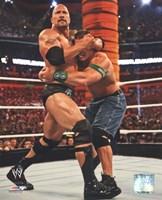 "The Rock Wrestlemania 28 Action - 8"" x 10"""