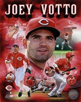 Joey Votto 2012 Portrait Plus Fine Art Print