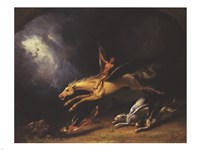 The Fox Hunter's Dream by William Holbrook Beard - various sizes