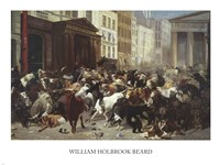 Wall Street: Bulls & Bears by William Holbrook Beard - various sizes