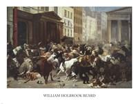 Wall Street: Bulls & Bears Framed Print
