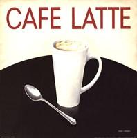 Cafe Moderne I Framed Print
