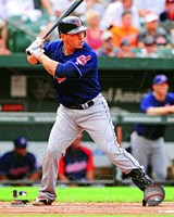 Asdrubal Cabrera 2012 Action Fine Art Print