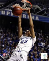 Anthony Davis University of Kentucky Wildcats 2011 Action Fine Art Print