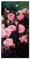 "Rose Garden II by Li Bo - 13"" x 25"""