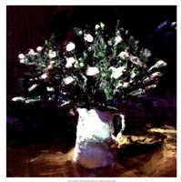 "19"" x 19"" White Flower Pictures"