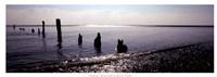 "Beach Study I by Noah Bay - 25"" x 9"""