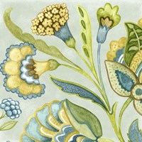 Decorative Golden Bloom I by Sydney Wright - various sizes