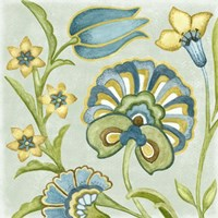 Decorative Golden Bloom II by Sydney Wright - various sizes