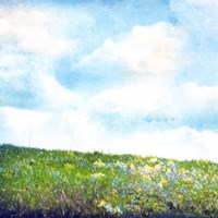 Bright Field I Fine Art Print