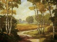 Country Walk I Fine Art Print