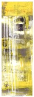 """Mellow Yellow I by Erin Ashley - 13"""" x 37"""" - $34.49"""