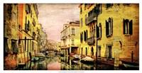"Italy Panorama III by Robert McClintock - 25"" x 13"""