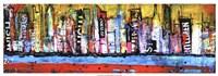 """Skyline by Erin Ashley - 37"""" x 13"""""""
