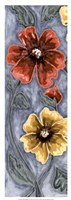 "9"" x 25"" Poppies Art"