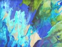 Blue Crush II Framed Print