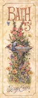 Bath (Bird bath) Framed Print