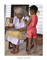 Grandma and Me Fine Art Print