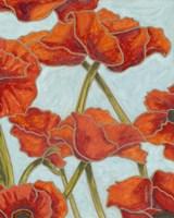 Poppy Talk II Fine Art Print